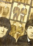 Sepia Beatles