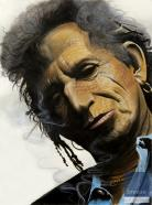 Keith Richards - Pensive Keith